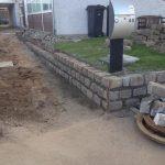 Belægning og stenmur