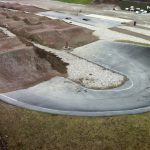 belægning på BMX-bane i København